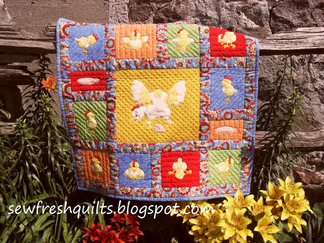 Little Chicks @ Sew Fresh Quilts