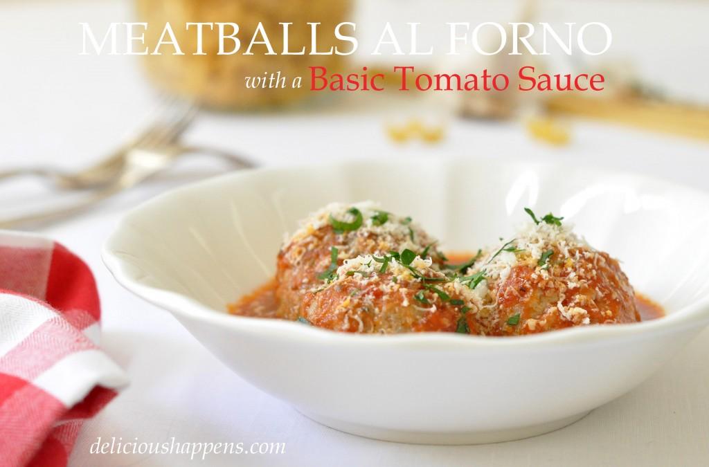 Meatballs Al Forno @ Delicious Happens