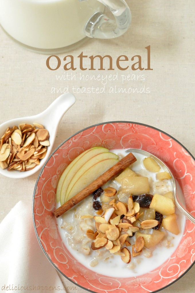Hot Oatmeal Cereal @ Delicious Happens