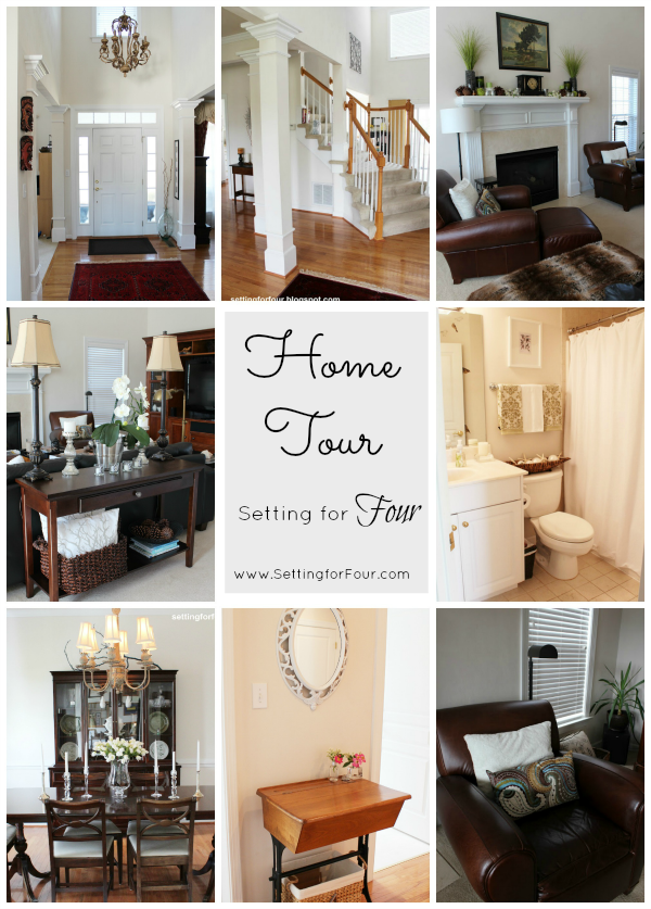 My Home Tour at Setting for Four