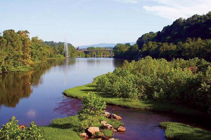 James River, Lynchburg, VA
