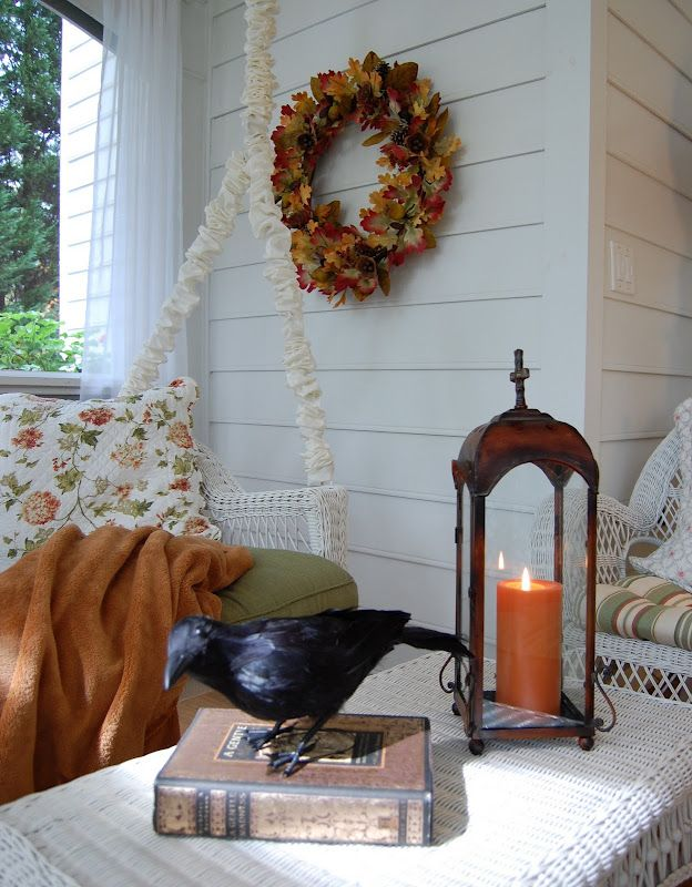 Simply Seasonal … Fall Comes to the Porch