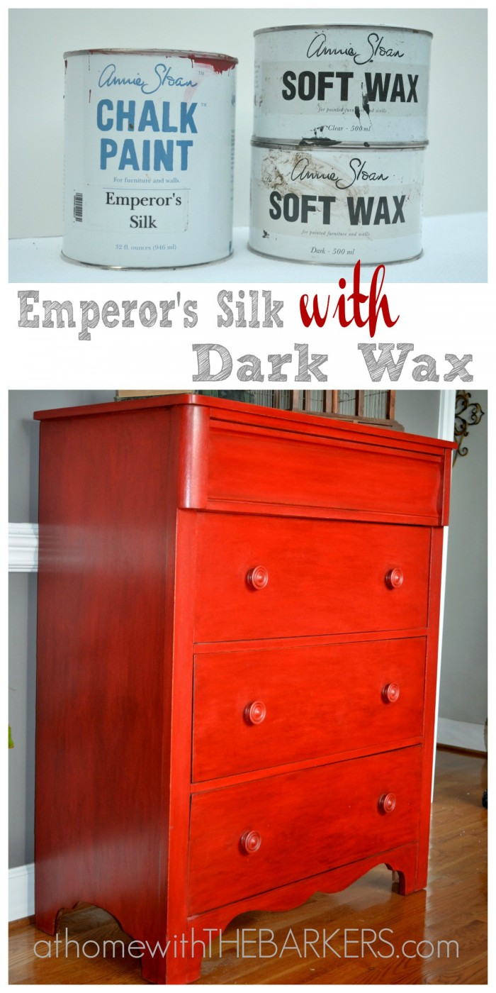 Emperors Silk Dresser @ At Home With the Barkers