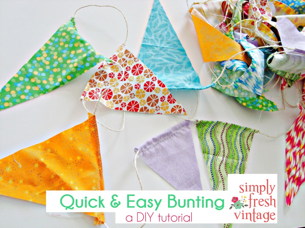 Quick & Easy Bunting