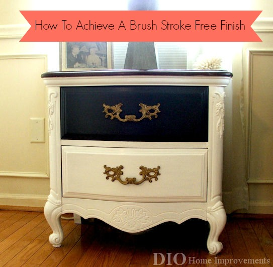 How-To Achieve a Brush-Stroke-Free Finish @ DIO Home Improvement