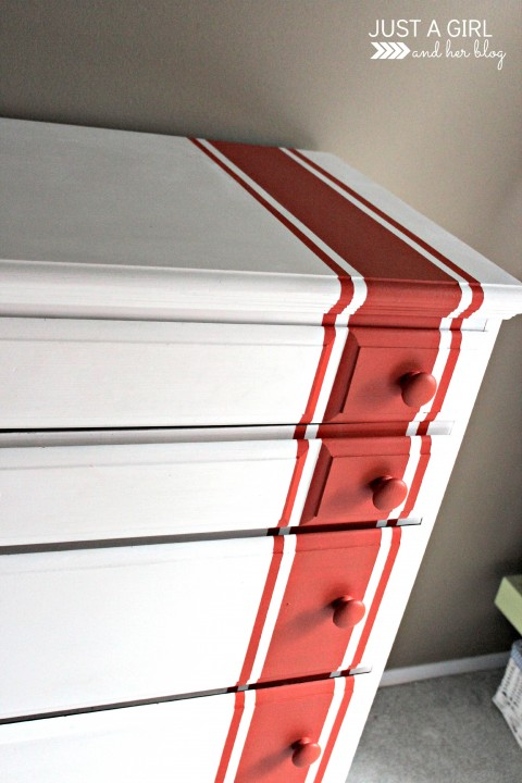 Dresser Update @ Just A Girl and Her Blog