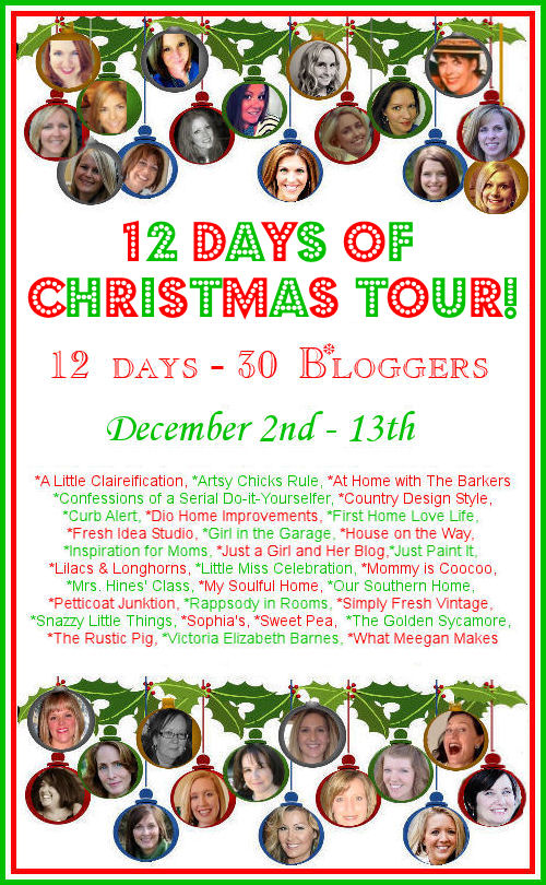 12 Days of Christmas Holiday Home Tour