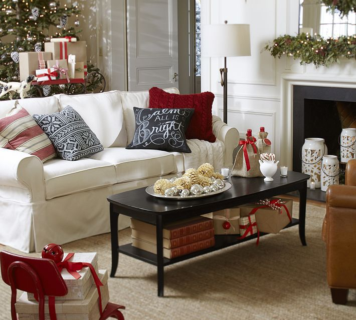 Pottery Barn Basic Slipcovered Sofa