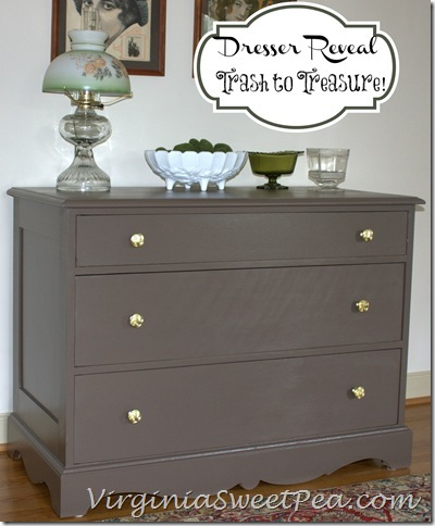 Trash To Treasure Dresser Sweet Pea