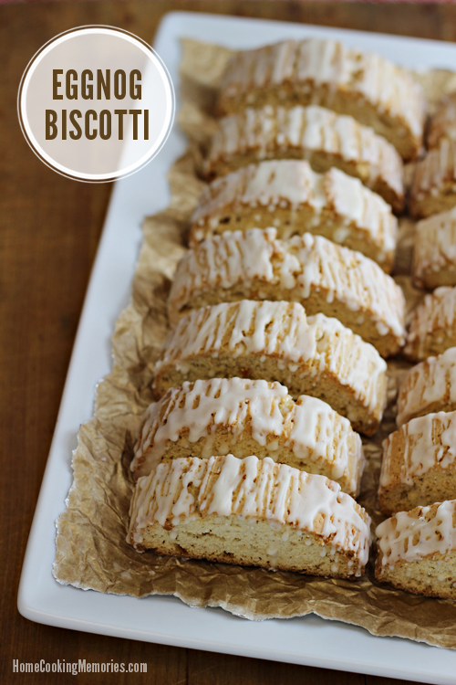 Eggnog Biscotti ... Home Cooking Memories