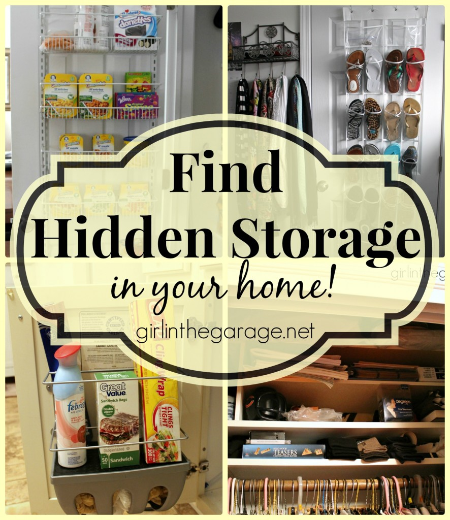 Hidden Storage Organization