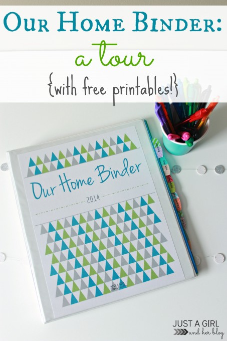 Home Binder Free Printables