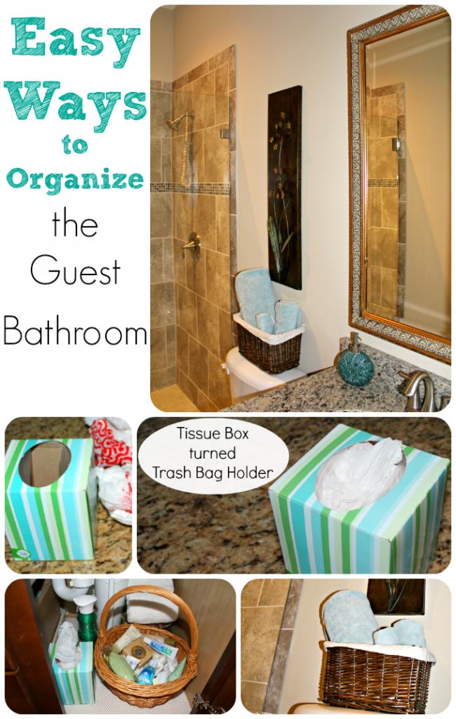 Guest Bath Organization