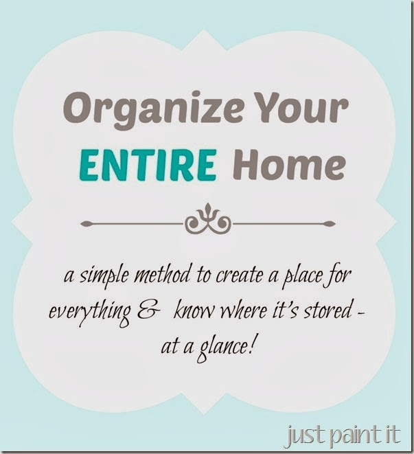 Organize Entire Home