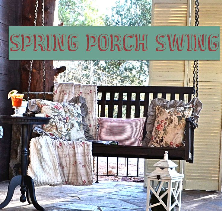 Spring Swingin' ~Country Design Style| SimplyFreshVintage.com