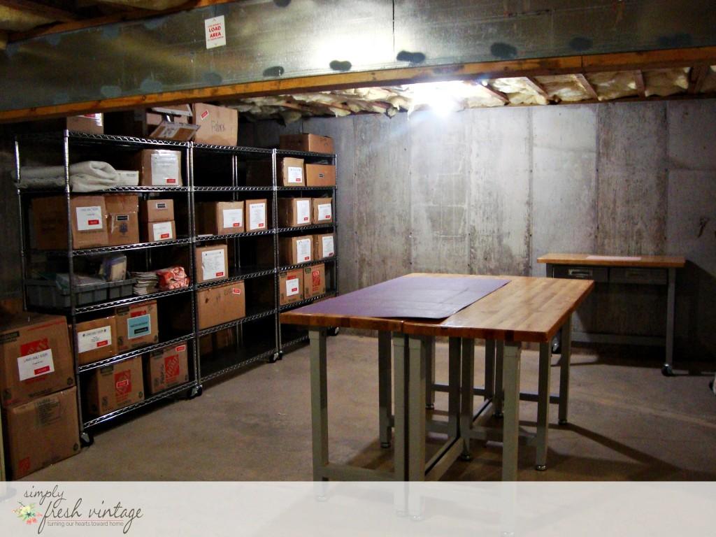 Basement Quilt Studio | Simply Fresh Vintage