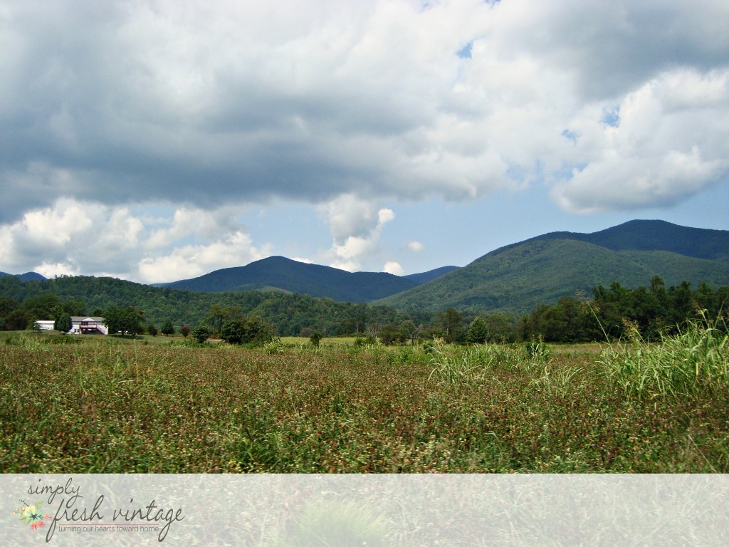 Blue Ridge Mountains | SimplyFreshVintage.com