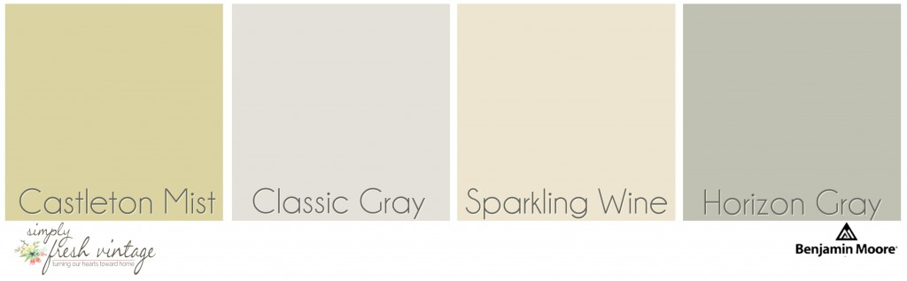 Interior Paint Colors | SimplyFreshVintage.com
