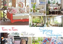Spring Swingin' | SimplyFreshVintage.com
