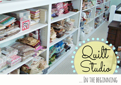 Quilt Studio:  In the Beginning