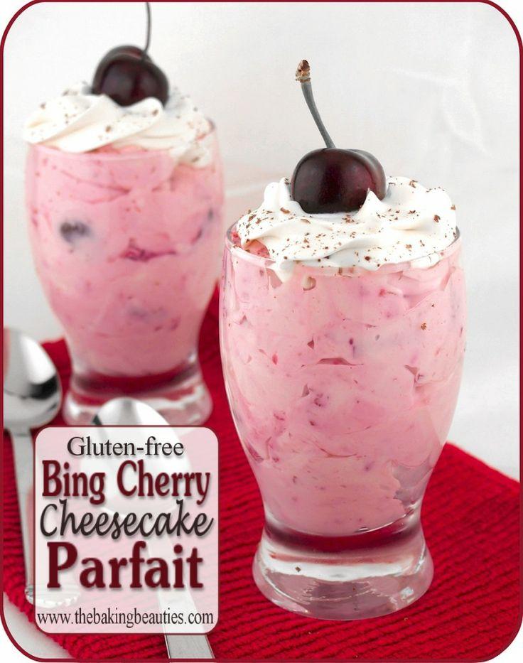 Cherry Cheesecake Roundup ~ TheBakingBeauties.com | SimplyFreshVintage.com