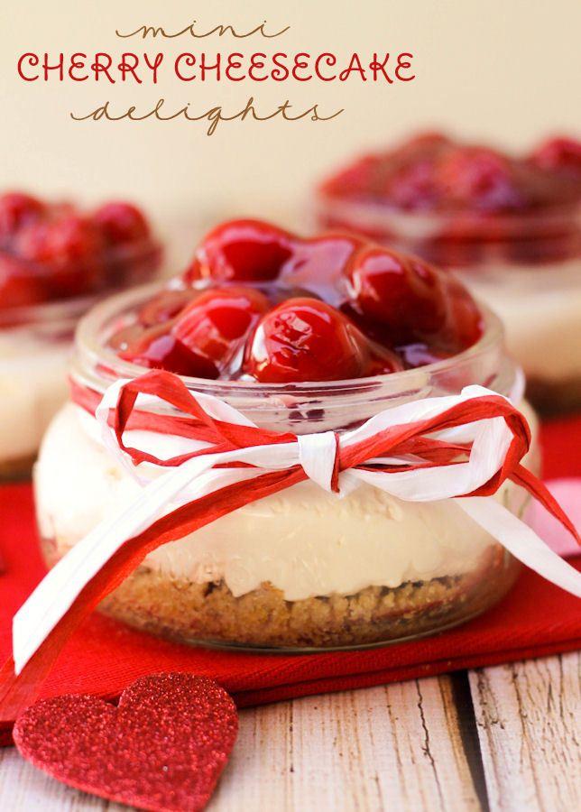 Cherry Cheesecake Roundup ~ LilLuna.com | SimplyFreshVintage.com