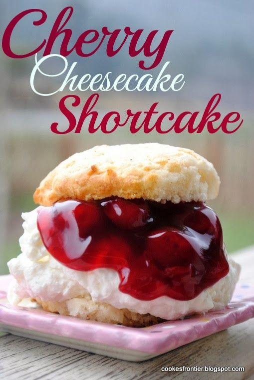 Cherry Cheesecake Roundup ~ CookesFrontier.blogspot.com | SimplyFreshVintage.com