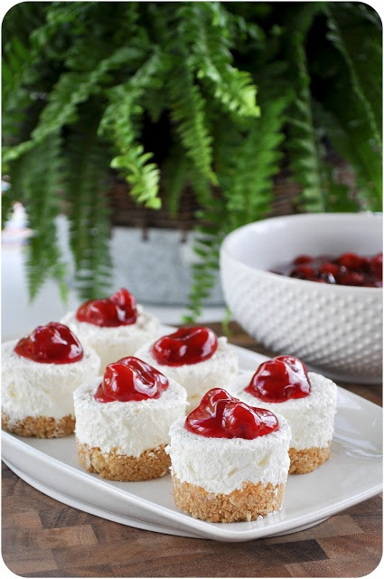 Cherry Cheesecake Roundup ~ Lemon-Sugar.com | SimplyFreshVintage.com
