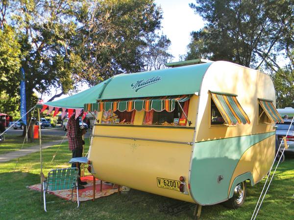Vintage Caravan Style