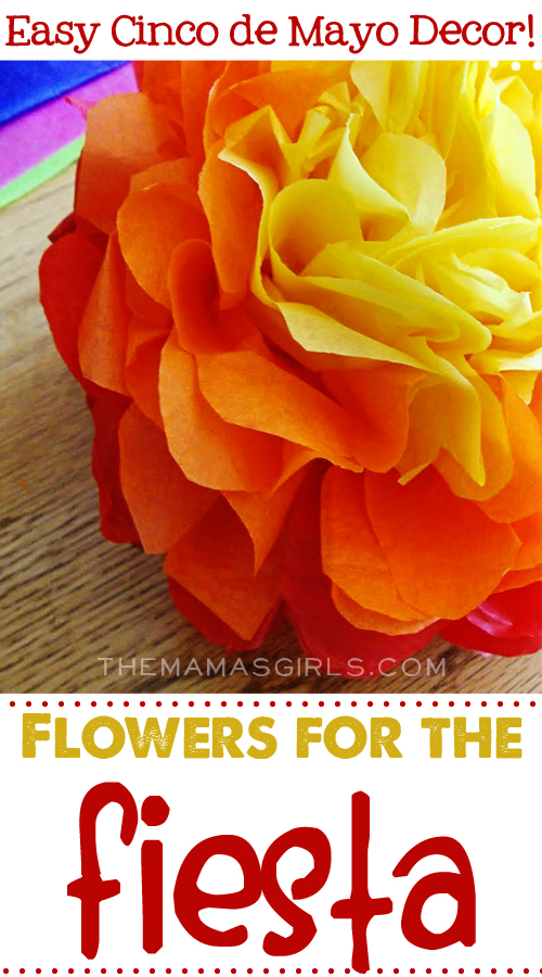 Flowers for the Fiesta ~ TheMamasGirls.com | SimplyFreshVintage.com