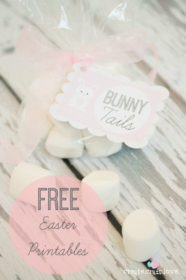 Spring Printables ~ Create Craft Love | SimplyFreshVintage.com