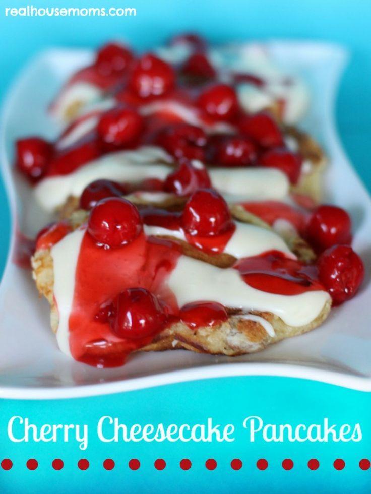 Cherry Cheesecake Roundup ~ RealHousemoms.com | SimplyFreshVintage.com
