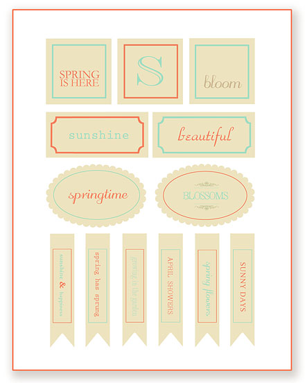 Spring Printables ~ Simple As That  | SimplyFreshVintage.com