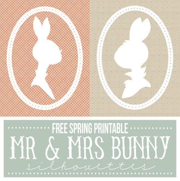 Spring Printables ~ Somewhat Simple | SimplyFreshVintage.com