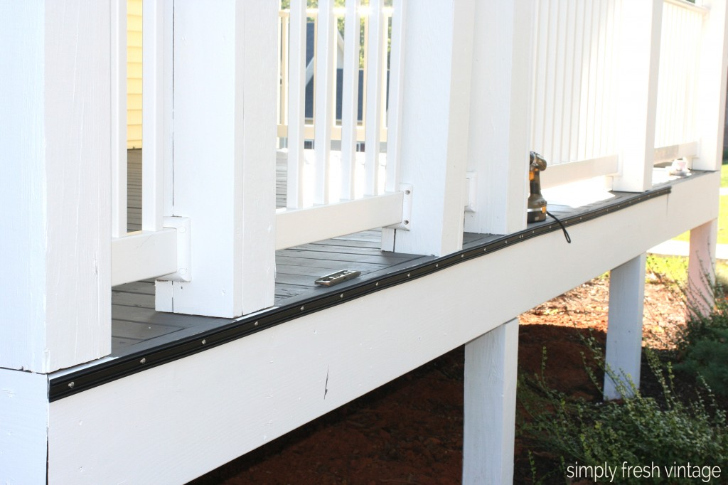 Porch Makeover - Screen Installation - Screen Installation | SimplyFreshVintage.com