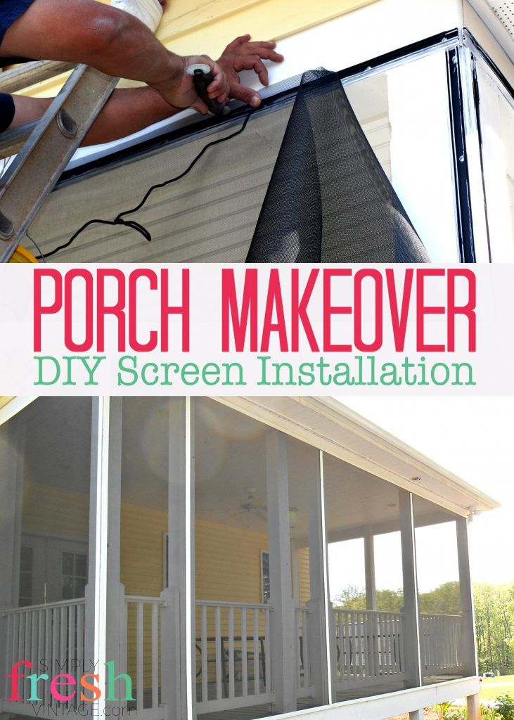 mobile construction screen pin screened diy for porch porches decks homes and in