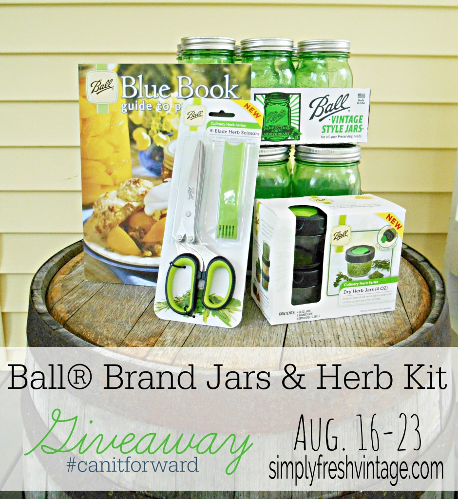 Ball® Brand Jars and Herb Kit GIveaway