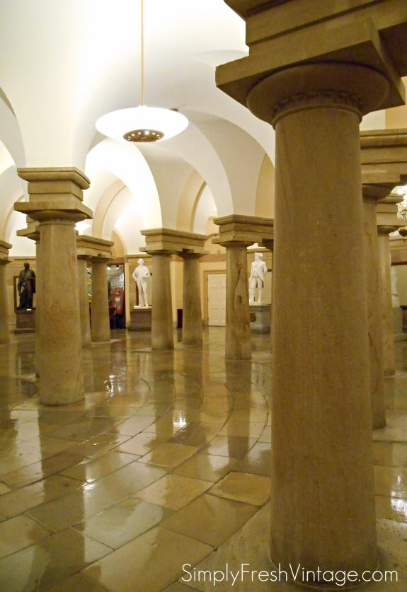 Basement Pillars at Capitol