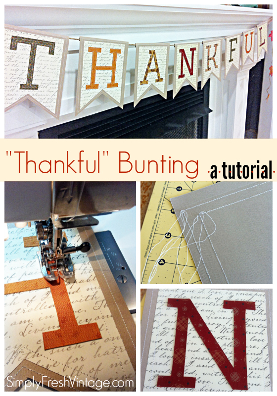 Thankful Banner ... a Tutorial