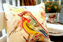 Birds of a Feather … Easy DIY Pillow Tutorial