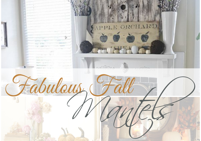 Fabulous Fall Mantels