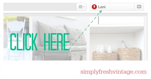 Keeping Up With the New Pinterest | SimplyFreshVintage.com