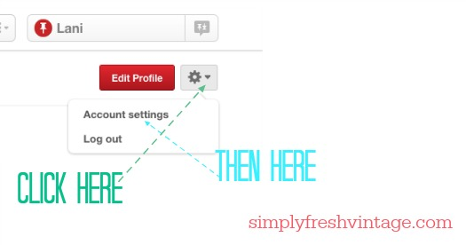 Keeping Up With the New Pinterest   SimplyFreshVintage.com