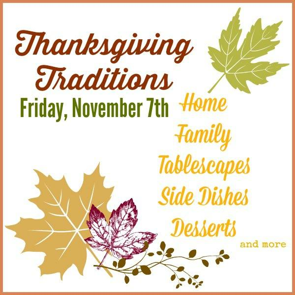 Thanksgiving Traditions Tour | SimplyFreshVintage.com