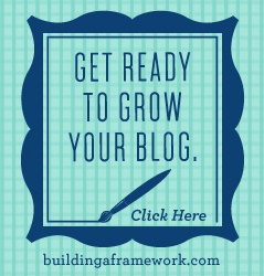 Do you have a friend or family member that is a blogger or wants to be a blogger? This Blogger Gift Guide will get you started in the right direction. One of the first things they'll need is excellent training. Building a Framework is an incredible resource chalk-full of step-by-step instructions to get your blog going in the right direction, or if you are a seasoned blogger, will help take your blog to the next level. | SimplyFreshVintage.com
