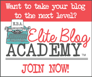 Do you have a friend or family member that is a blogger or wants to be a blogger? This Blogger Gift Guide will get you started in the right direction. One of the first things they'll need is a excellent training. Elite Blog Academy is an incredible program that will get you started in the right direction, or if you are a seasoned blogg, will take your blog to the next level. | SimplyFreshVintage.com