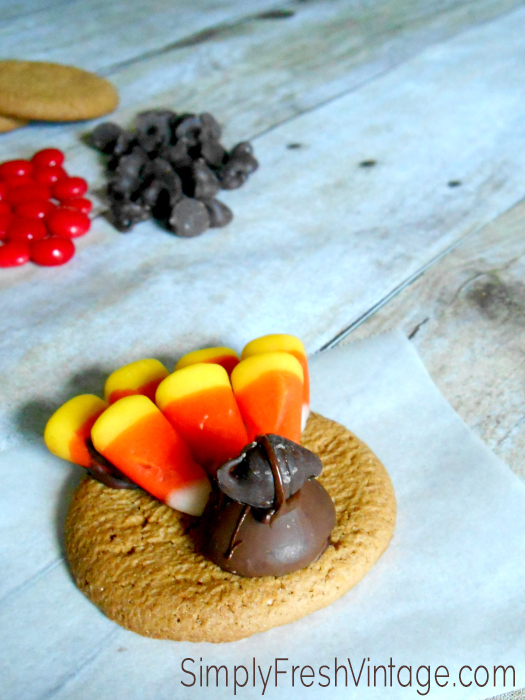 Gobble Gobble ... A Thanksgiving Treat | SimplyFreshVintage.com