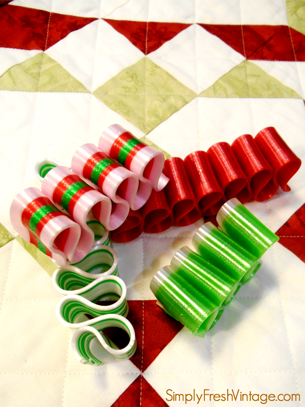 One of my favorite holiday candies is Ribbon Candy. Delicious! | SimplyFreshVintage.com