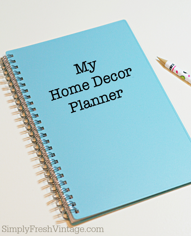 Shopping for Home Decor? Wondering if that table or painting will fit in the space you have envisioned it for? Worry no more! This Home Decorating Planner will help keep you organized. | SimplyFreshVintage.com