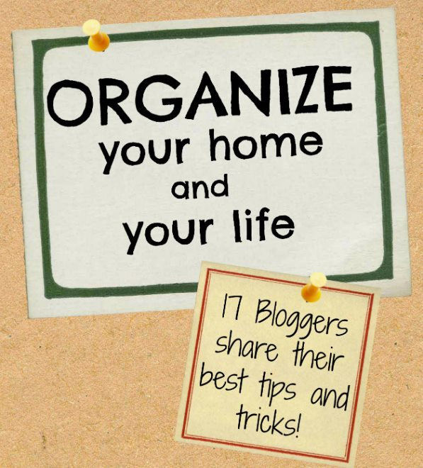 Organize your home and your life with tips from 17 of the best DIY, Home Decor & Lifestyle bloggers. | SimplyFreshVintage.